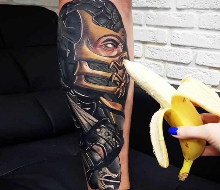 Mortal Kombat Tattoo By Anastasia Agapova Post 30384