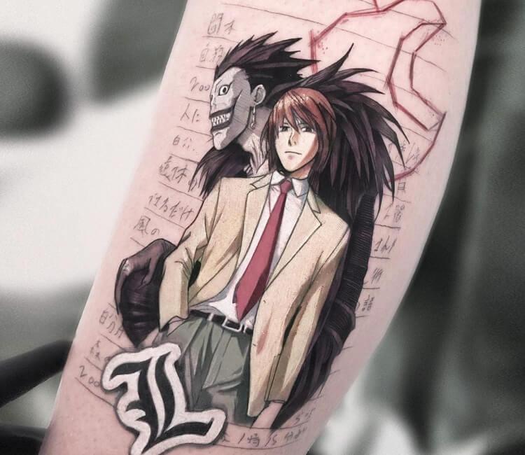 Design death note tattoo 150 Show