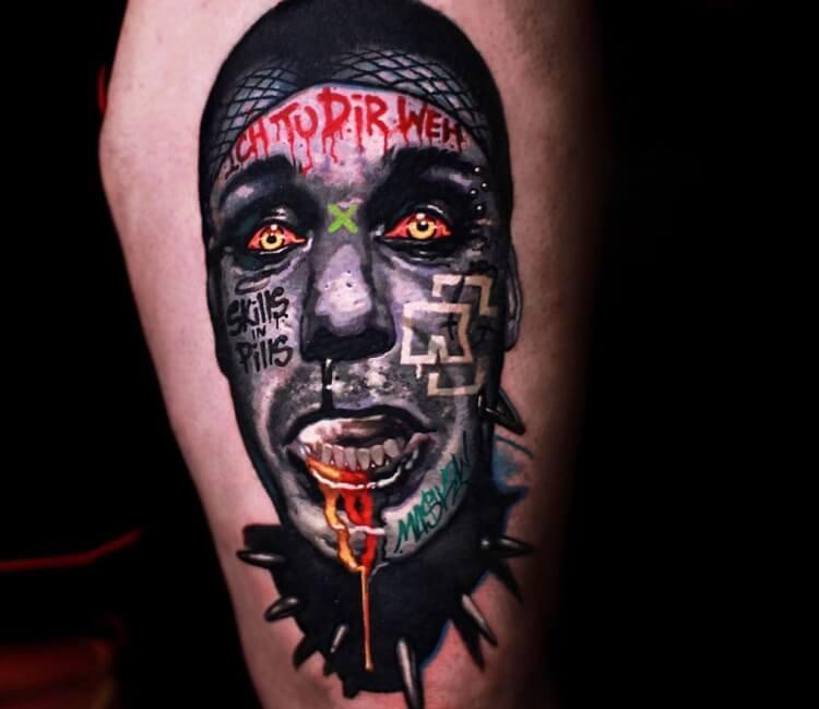 Ohne Dich Rammstein Tattoo Ideen Manner Arm 2