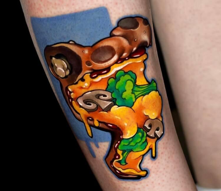 Tattoo pizza Domino's Was