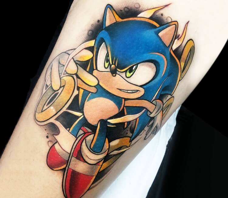 Sonic Tattoo By Yeray Perez Post 30462