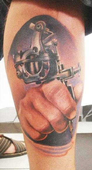 Tattoo Machine By Zsolt Gomori