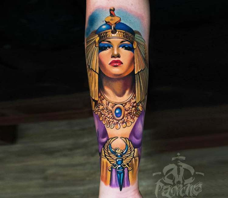 Cleopatra Tattoo By A D Pancho Post 21794