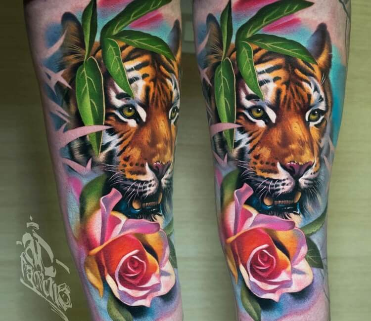 Tiger Tattoo By A D Pancho Post 27039