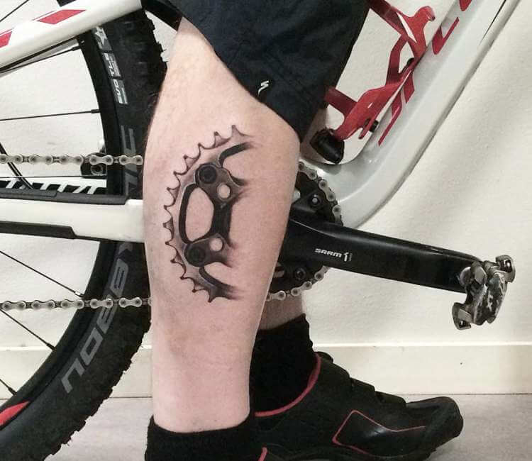 Bike Tattoo By Adrian Lindell Post 25198