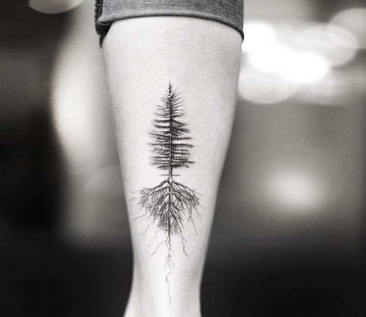 5455968831dd7 Tree and Roots tattoo by Alessandro Capozzi | Post 22857
