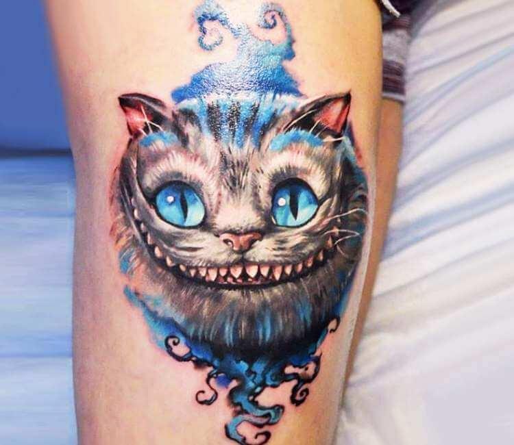 Cheshire Cat Tattoo By Alex Noir Post 26317