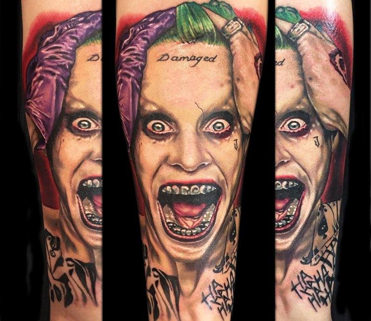 Joker Tattoo By Alex Rattray Ink Post 14097