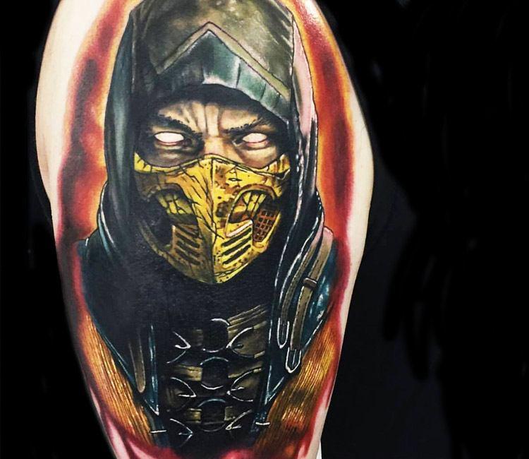 Mortal Kombat Tattoo By Alex Rattray Ink Post 14063