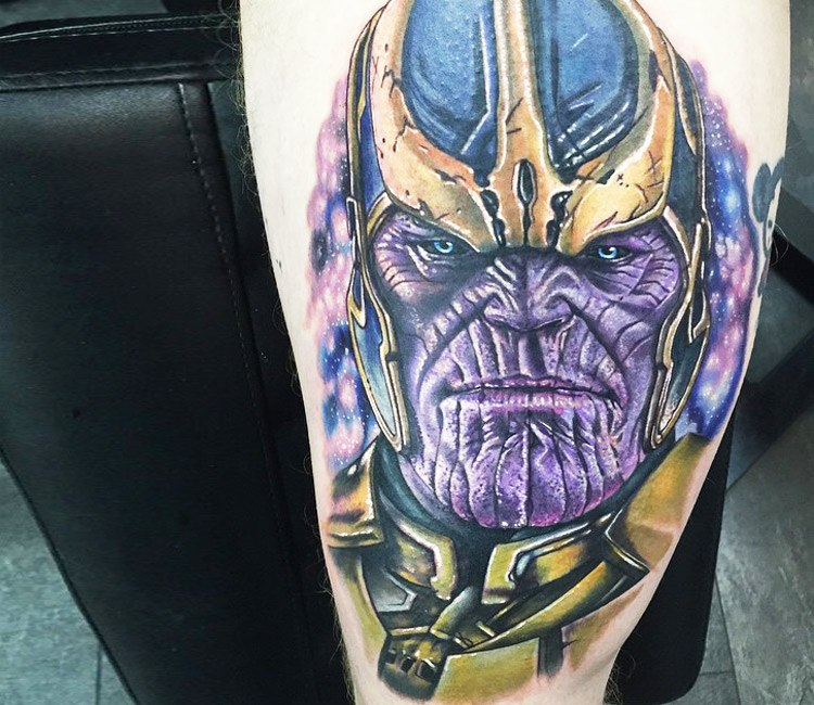 Thanos tattoo by Alex Rattray Ink | Post 14114