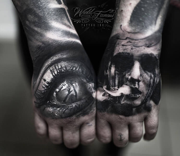Horror Hand Tattoo By Andrey Kolbasin Post 13653