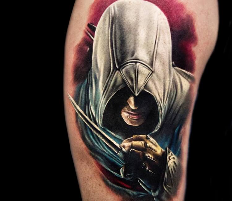 Assassins Creed Tattoo By Andrey Stepanov Post 27833