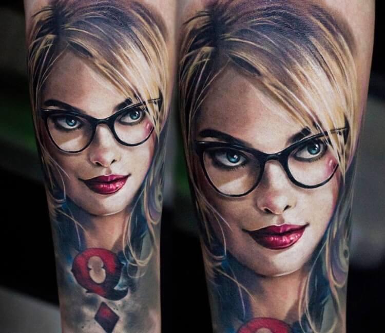 Harley Quinn Tattoo By Andrey Stepanov Post 27835