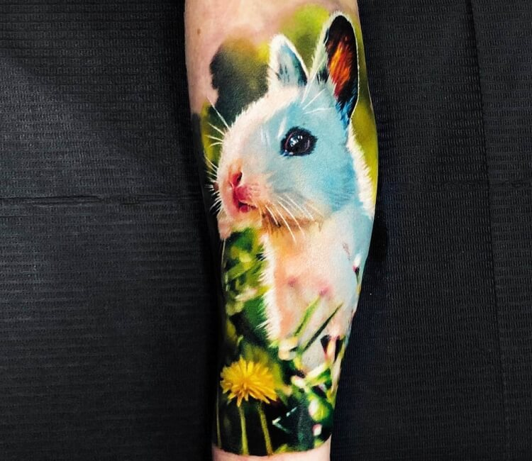 304abc5b0a9e0 Little bunny tattoo by Andrey Stepanov | Post 28095