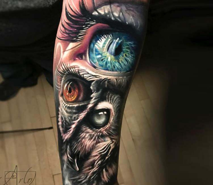 Eyes tattoo by arlo tattoos post 21206 for Arlo tattoo artist