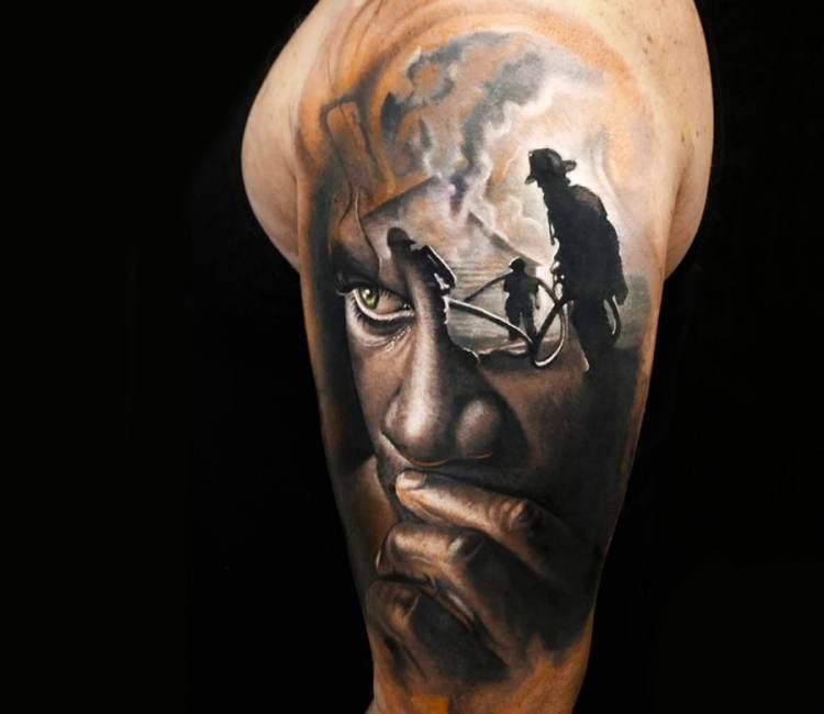 Firefighter tattoo by arlo dicristina post 19511 for Arlo tattoo artist