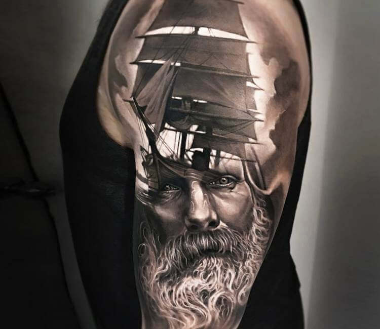 Morphing tattoo by arlo tattoos post 19877 for Arlo tattoo artist