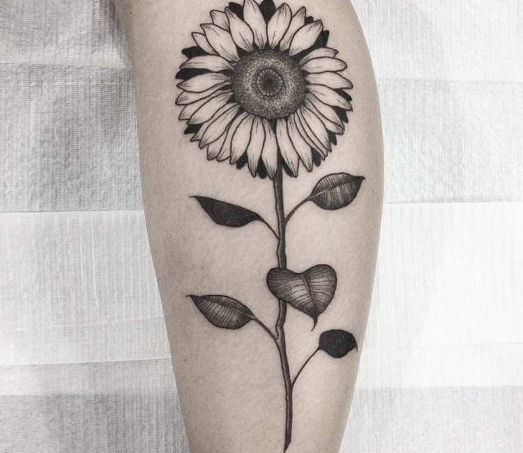 Sunflower Tattoo By Arthur Coury Post 24148