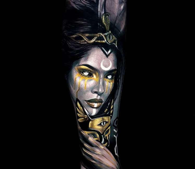 Cleopatra Tattoo By Ata Ink Post 23628