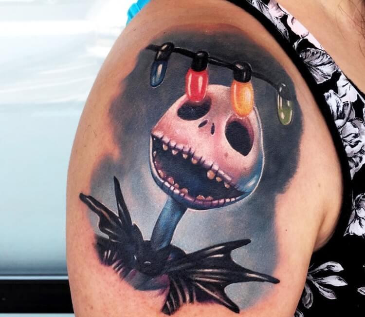 8e5d0697a Jack Skellington tattoo by Audie Fulfer | Post 27535