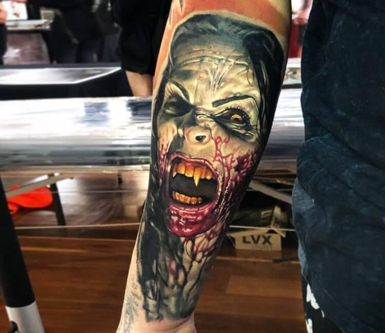 Vampire Tattoo By Ben Kaye Post 27374