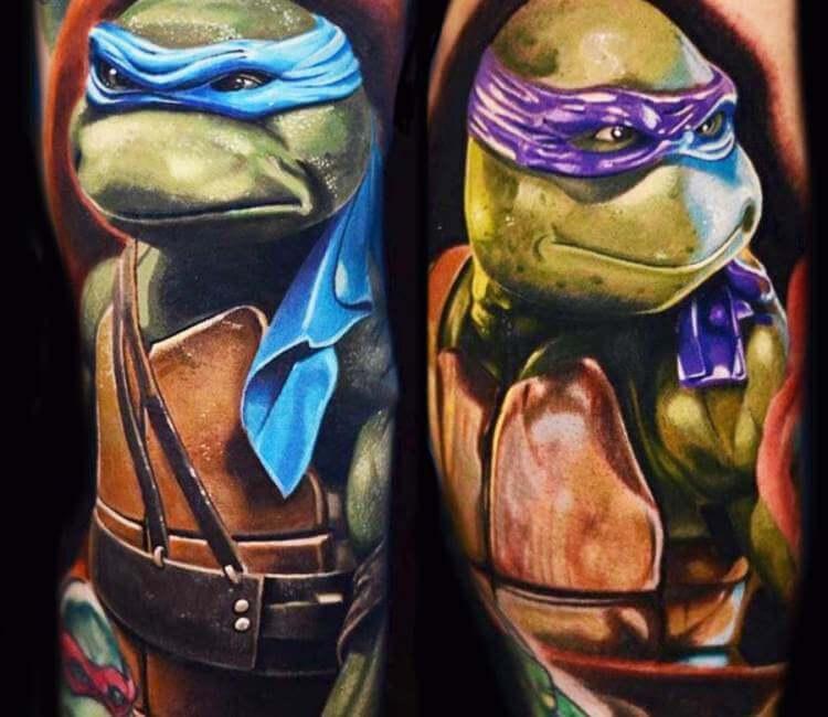 Ninja Turtles Tattoo Best Tattoo Ideas