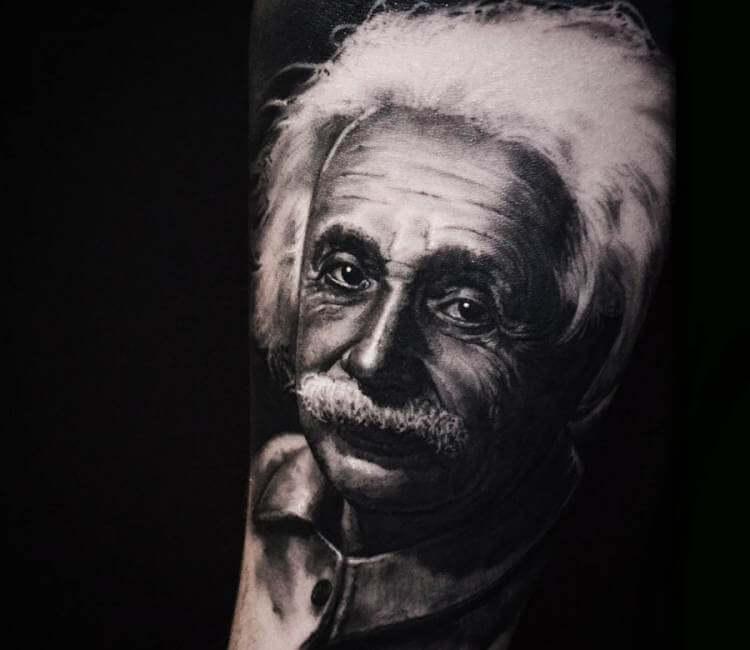 Albert Einstein Tattoo By Ben Thomas Post 21292