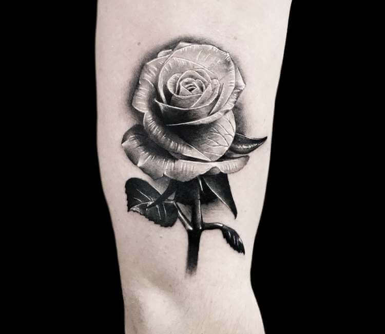 Rose Tattoo By Benjamin Blvckout Post 23593