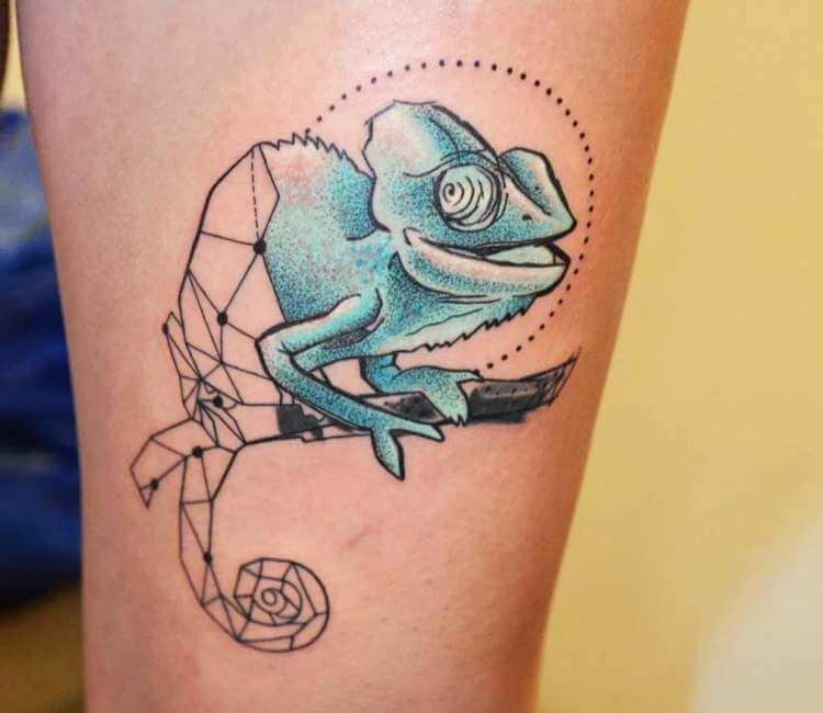 80c7d8fbc1521 Chameleon Tattoo By Bianka Einger Post 23603