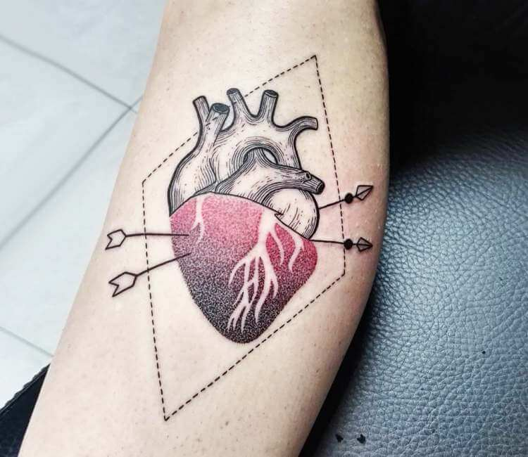 Heart tattoo by Bianka Tattoo | Post 25603
