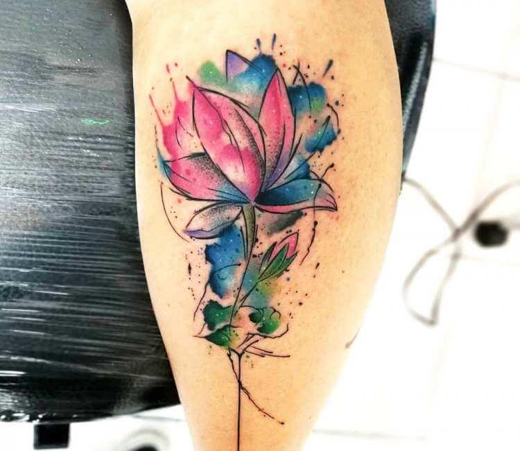 Lotus Flower Tattoo By Bianka Einger Post 25664