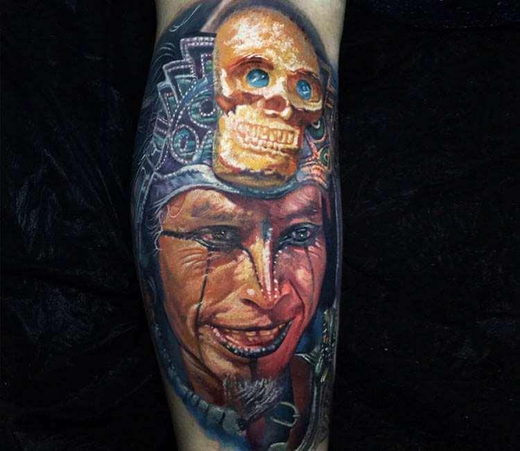 Aztec Warrior Tattoo By Boris Tattoo Post 24930
