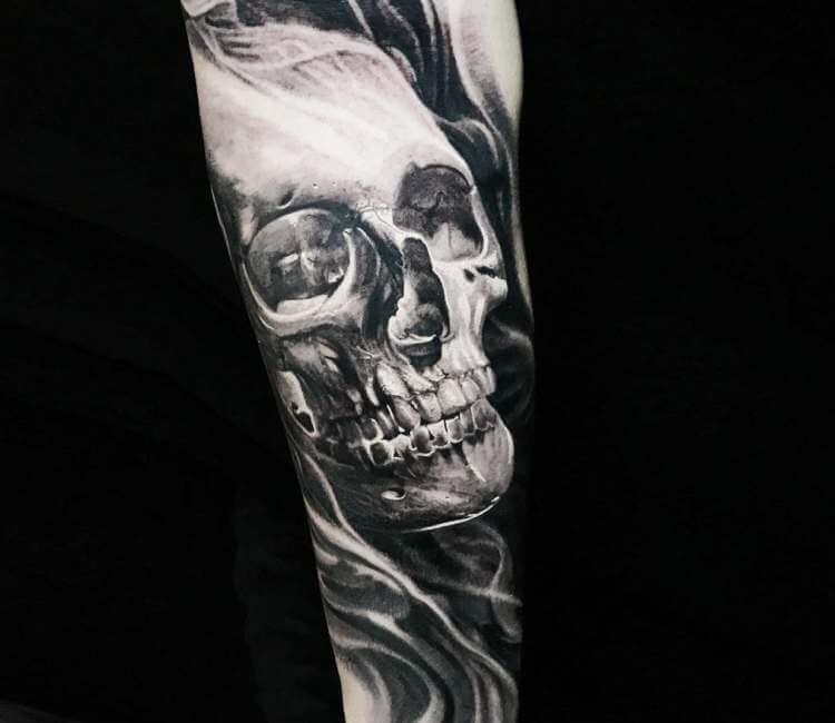 Skull Tattoo By Boris Tattoo Post 24027