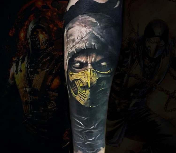 Top 148 Gamer Tattoos