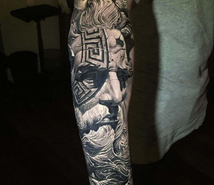 Poseidon Tattoo By Chris Showstoppr Post 29463