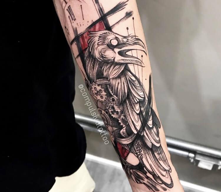 Raven Tattoo By Compulsiva Tattoo Post 28908