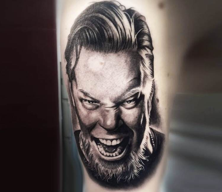 james hetfield tattoos - 750×650
