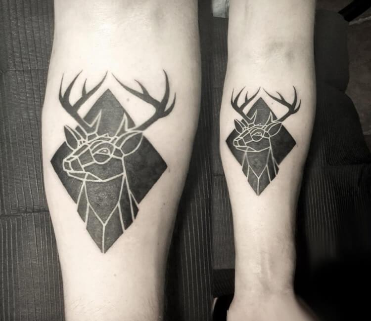 Deer Tattoo By Damian Orawiec Post 27358
