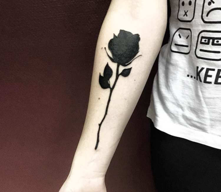 Black Rose Tattoo By Darek Tattoo Post 22226