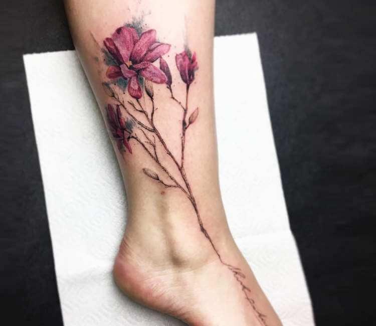 Magnolia Tattoo By Darek Tattoo Post 23896