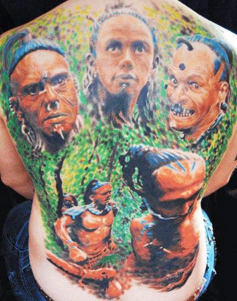 Jerry Pipkins - Certified Artist  |Apocalypto Tattoo