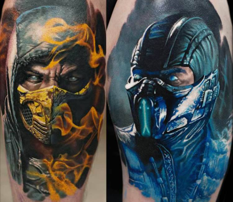 Mortal Kombat Tattoo By Denis Sivak Post 14422