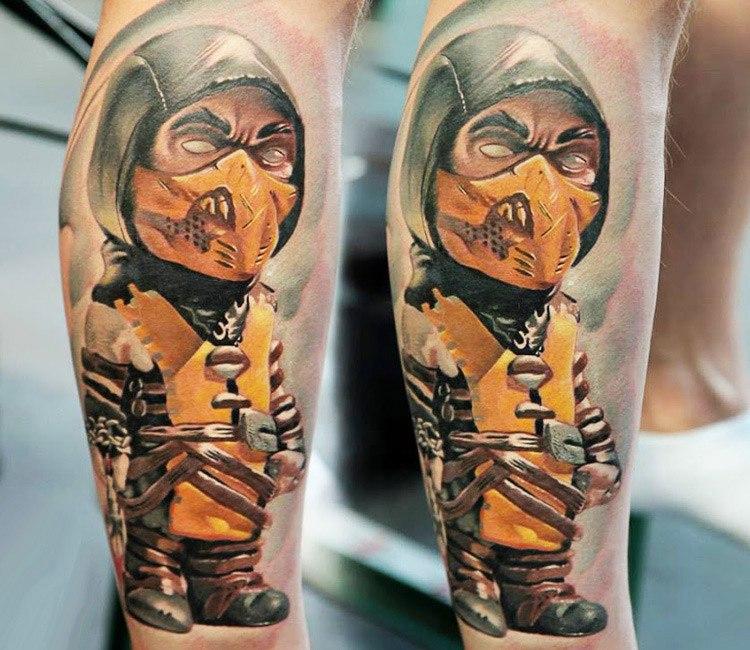 Scorpion Tattoo By Denis Torikashvili Post 13048