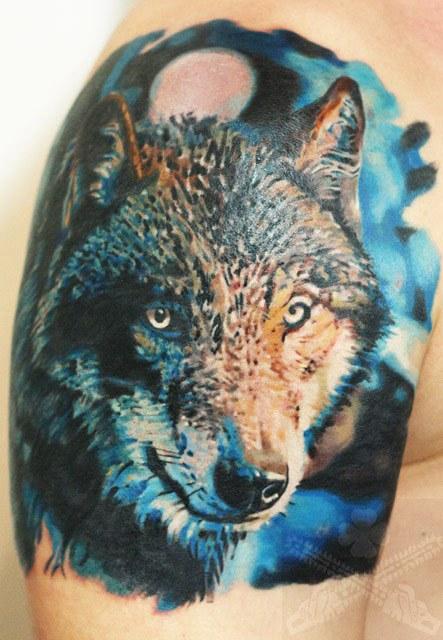 wolf tattoo by dmitriy urban post 11908