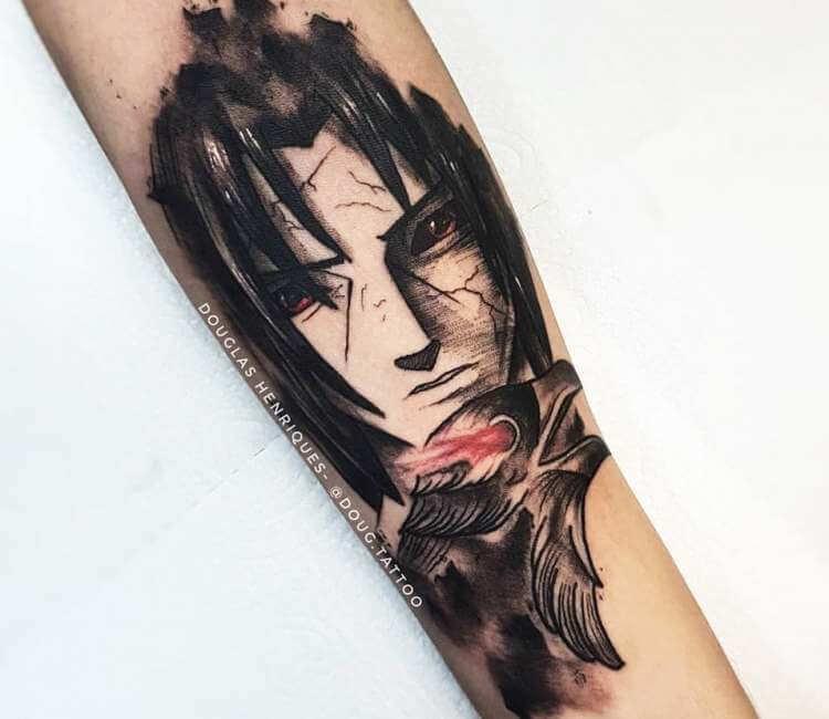 Itachi Sharingan Tattoos
