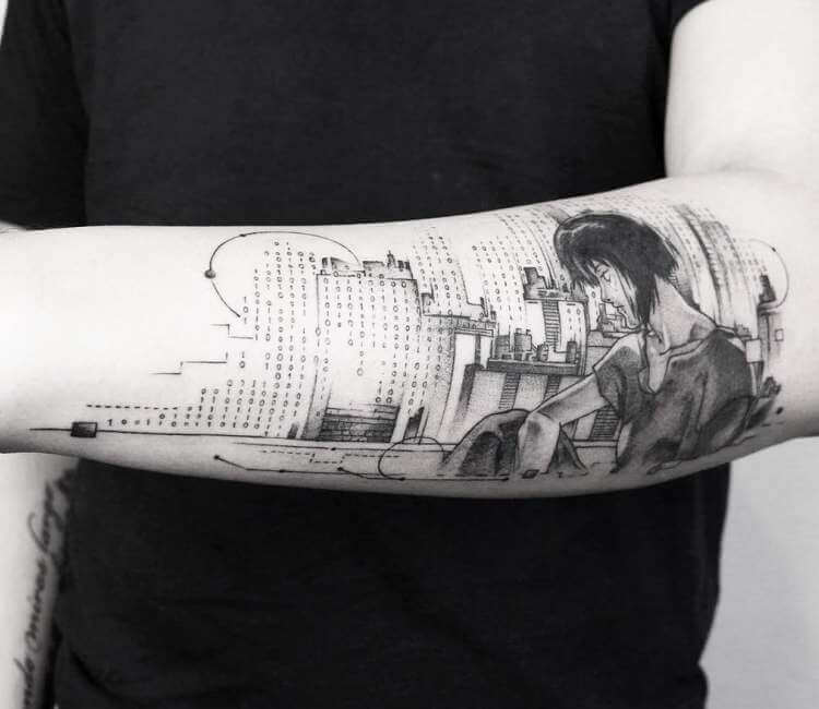 Ghost In The Shell Tattoo By Emrah Ozhan Post 26448