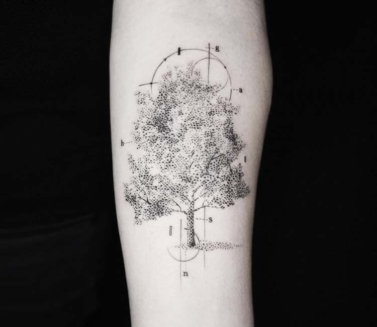 Tree Tattoo By Emrah Ozhan Post 23613