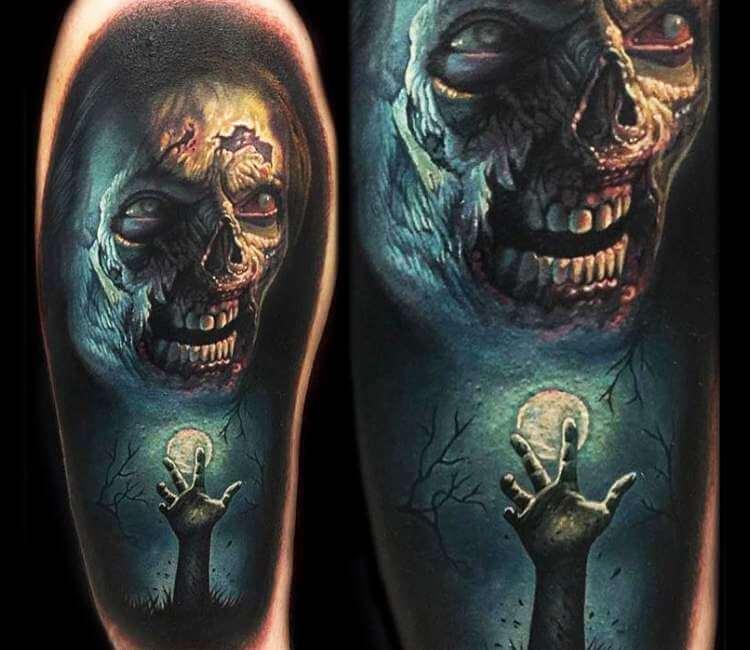 Horror Movie Tattoos Tattoos: Horror Movie Tattoo By Evan Olin