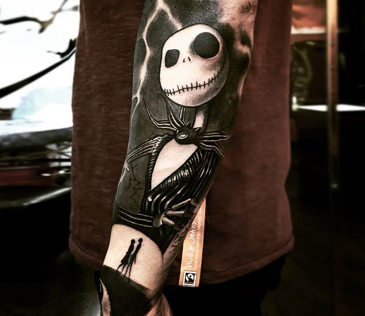 Jack skellington tattoo by ezequiel samuraii post 19372 for Tattoo nightmares shop website
