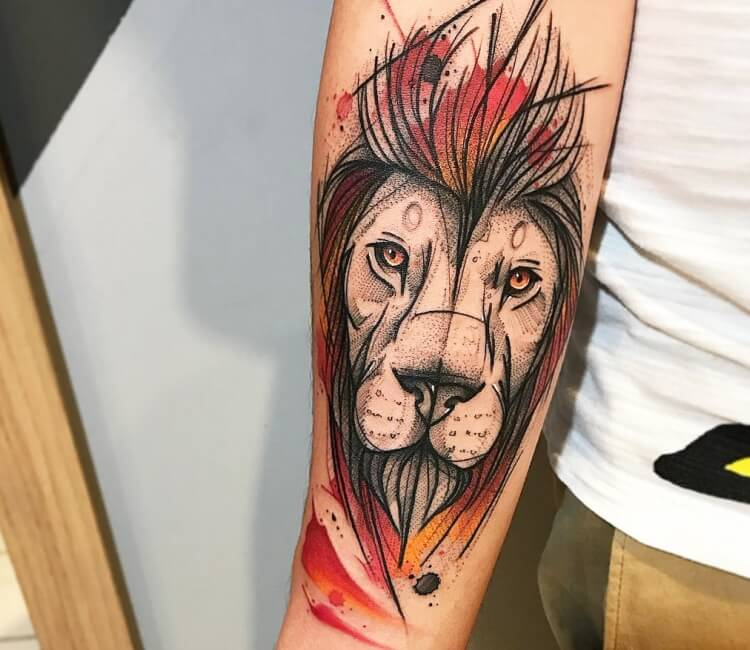 7400abc6b Lion Tattoo | World Tattoo Gallery | Page 1